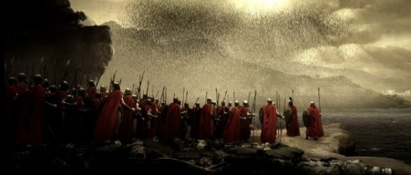 Одна из первых DDoS-атак, 480 г. до н. э. — Царь Леонид ожидает персидское войско в ущелье