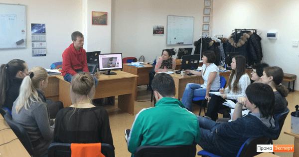 Даниил Силантьев проводит мастер-класс в «Промо Эксперте»