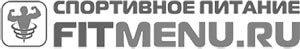 Логотип магазина спортивного питания «Фитменю»