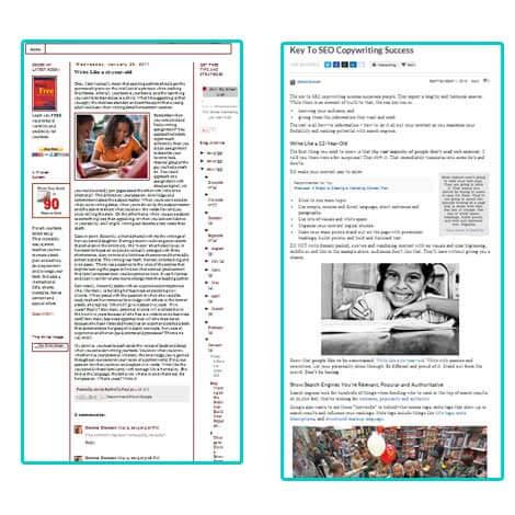 Какую из 2-х статей на картинке вам захочется прочитать?